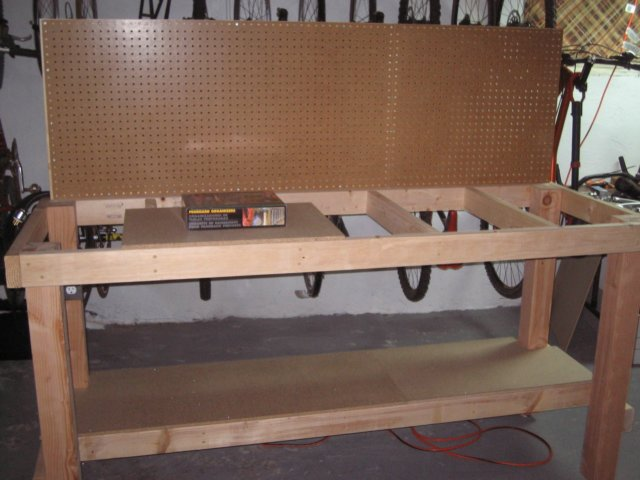 Pegboard Attached